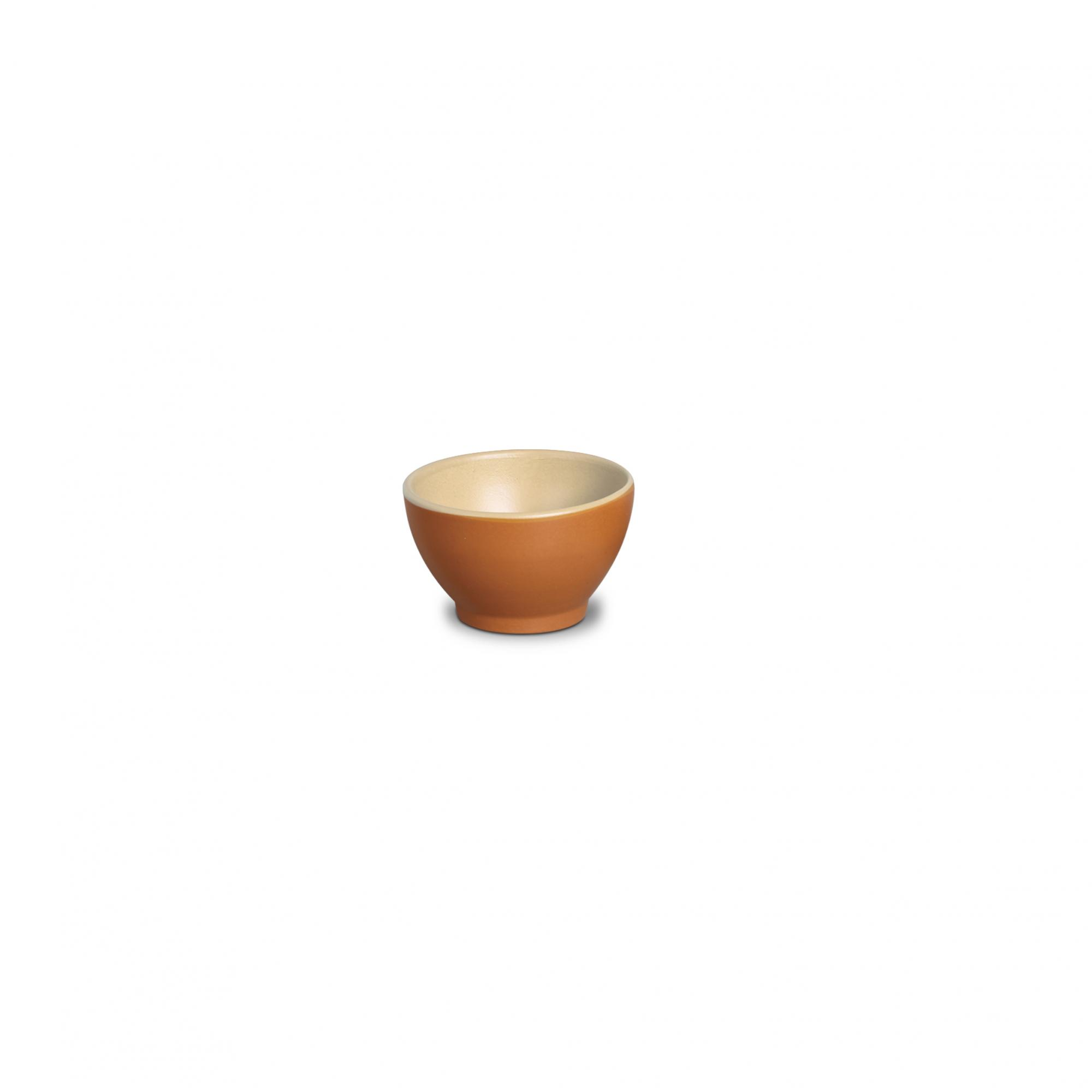 CONSOME BOWL 550 ML - TIJOLO/CREME MATE